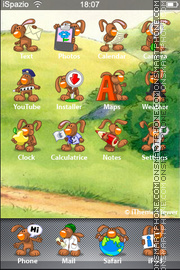 Rabbit Maro theme screenshot