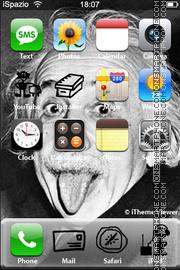 Скриншот темы Einstein