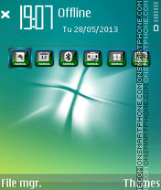 Windows Aero tema screenshot