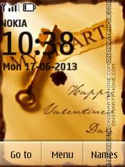 Happy valentines day 16 theme screenshot
