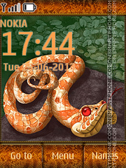 Snake 06 tema screenshot