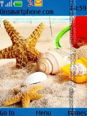 Скриншот темы Sea Shells 01