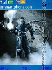 Скриншот темы Sub - Zero - Mortal Kombat