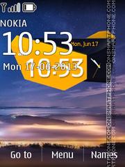 Capture d'écran Oppo Find 5 Digital thème