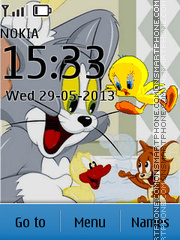 Tweety Tom and Jerry theme screenshot