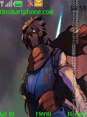 Strider Hiryu theme screenshot