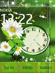 Daisies theme screenshot