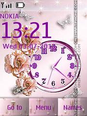 Скриншот темы Pink Roses
