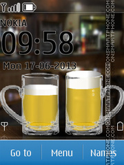 Beer Battery 01 theme screenshot