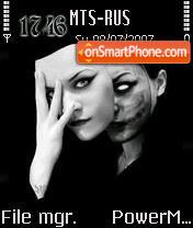 Real Face tema screenshot