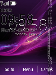 Sony Xperia Z7 theme screenshot