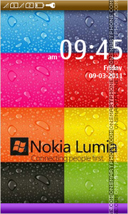 Lumia Style 01 tema screenshot