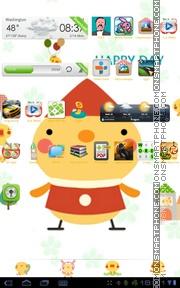 Cute Chicken Theme-Screenshot