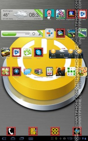 Getting Started tema screenshot