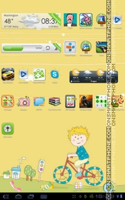 Naughty 01 tema screenshot