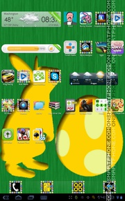Easter 12 theme screenshot