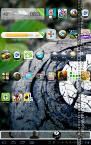 Eight Ball tema screenshot