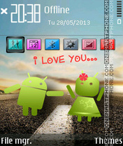 Android Love Theme-Screenshot