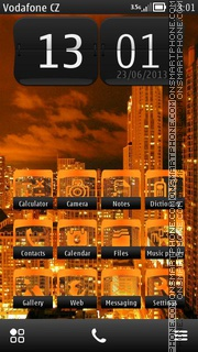 City Nights by ThaBull theme screenshot