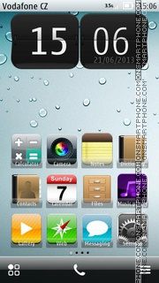 iPhone 09 theme screenshot