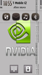 Grayslic Nvida tema screenshot