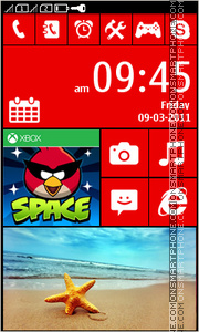 Lumia Exclusive Full Touch theme screenshot