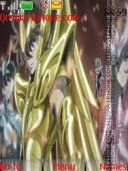 Saint Seiya Omega theme screenshot