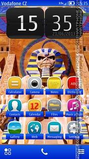 Capture d'écran Powerslave thème