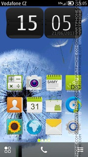 Galaxy SIII 2014 theme screenshot