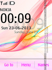 Скриншот темы Xperia X2