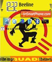 Capture d'écran Quadro thème