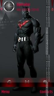 Скриншот темы Batman Beyond