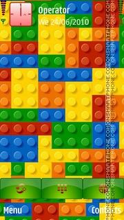 Lego theme screenshot