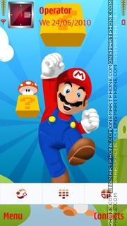 Mario theme screenshot