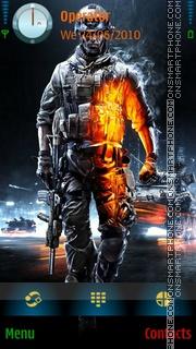 Battlefield 3 theme screenshot