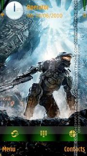 Master Chief (Halo) theme screenshot