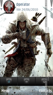 Assassins Creed Theme es el tema de pantalla