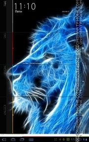 Blue Lion King theme screenshot