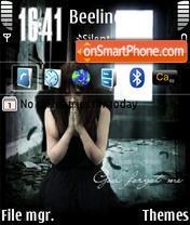 Скриншот темы Gothic 01