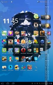 Darth Vader 03 tema screenshot