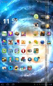 Скриншот темы Solar System HD