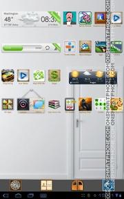 Country House tema screenshot