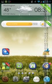 Скриншот темы Nature Pebble