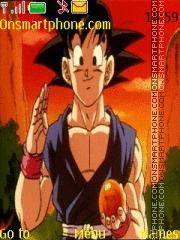 Goku DBGT theme screenshot