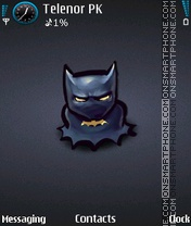 Batman theme screenshot