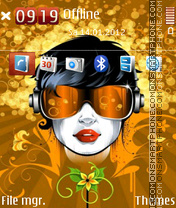 Music Mania 02 Theme-Screenshot