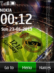 Real Madrid Digital theme screenshot