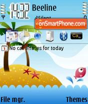 Tropical Island es el tema de pantalla