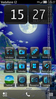 Moon Fantasy 02 theme screenshot
