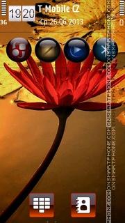 Water Lilly HD v5 theme screenshot